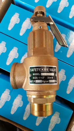 KBB Brass Safety Valve